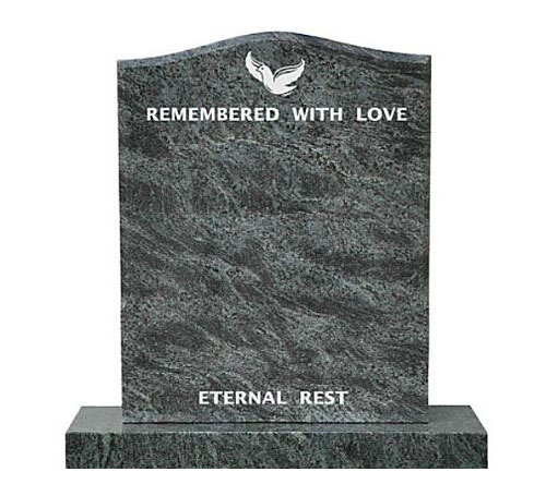 Serp Headstone Bahama Blue