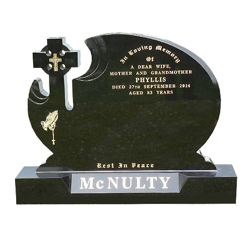 custom cross headstone