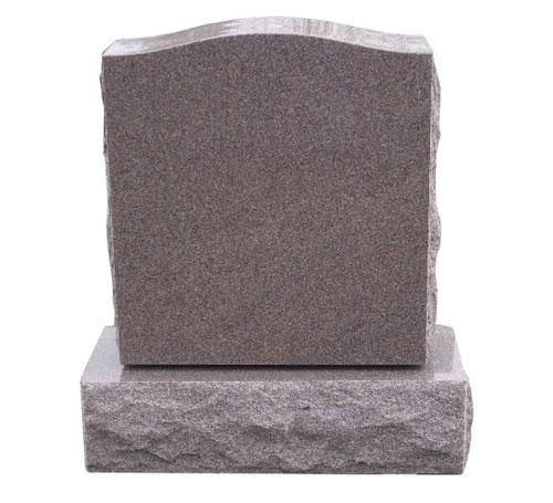 serp single pink headstone