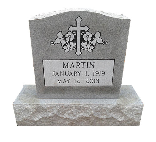serpentine grey headstone