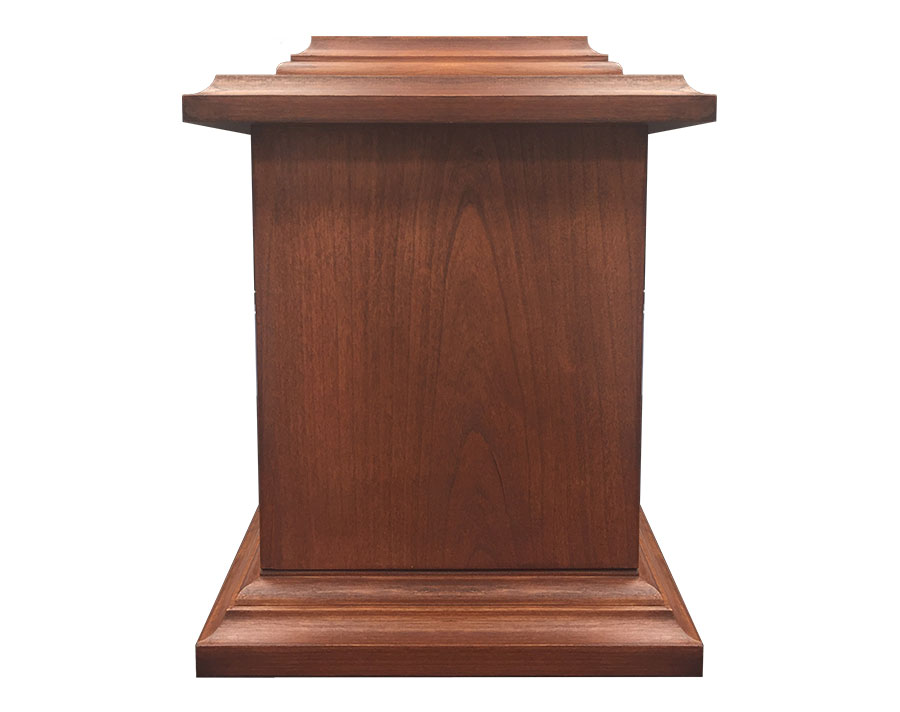 WU201 Cherry Wood Urn