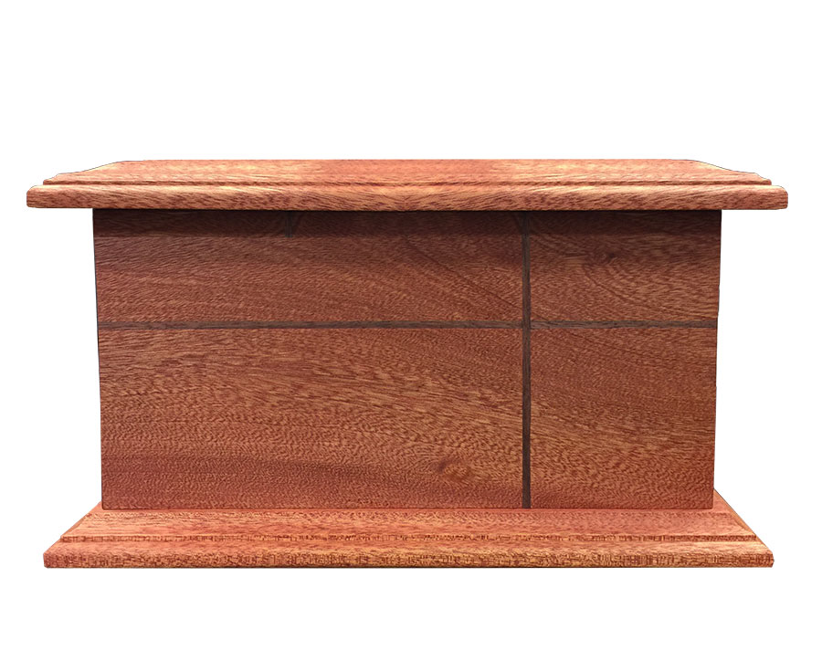 Front Wood Urn WU202