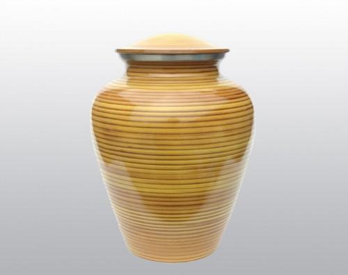 Golden Streak Metal Urn