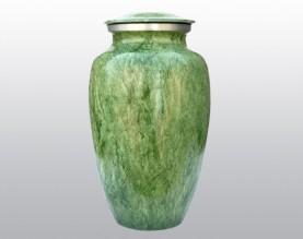 Classic Green Metal Urn