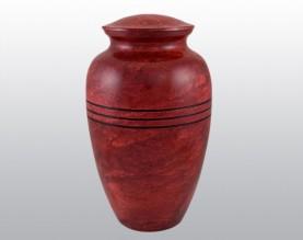 Red Ruby Urn Metal Urn