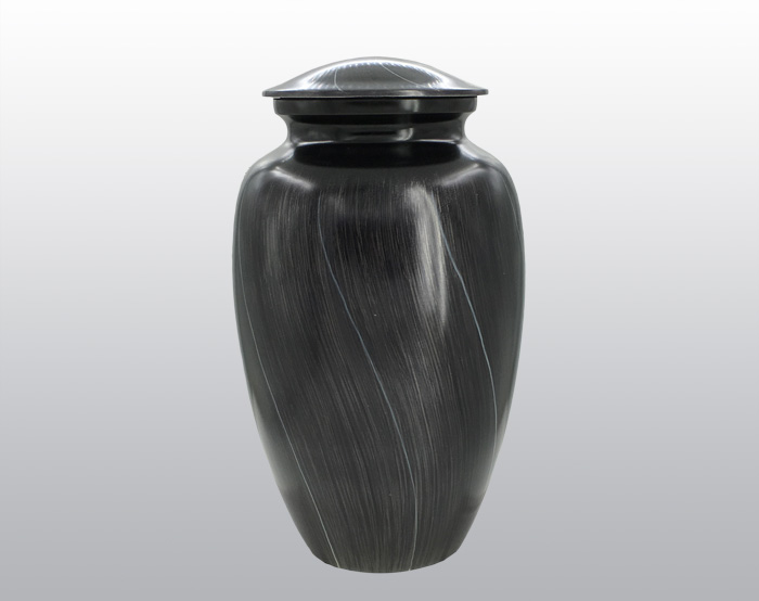 Sacred Lining Metal Urn MU131