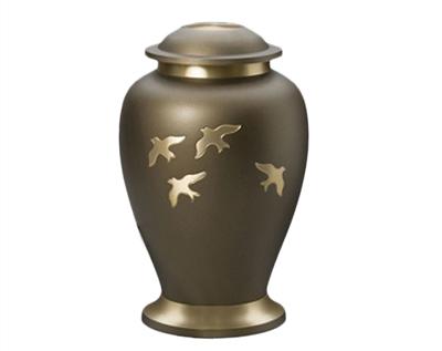 metal urn mu144