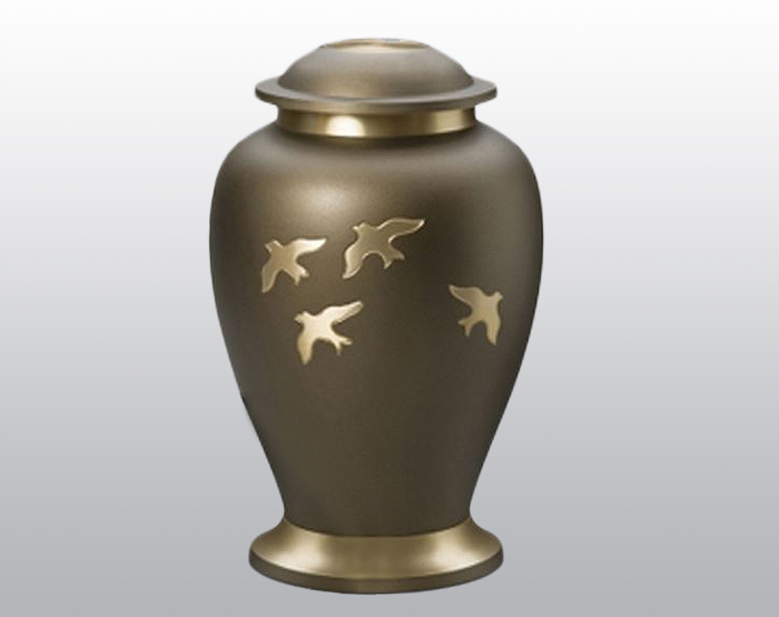Going Home Metal Urn