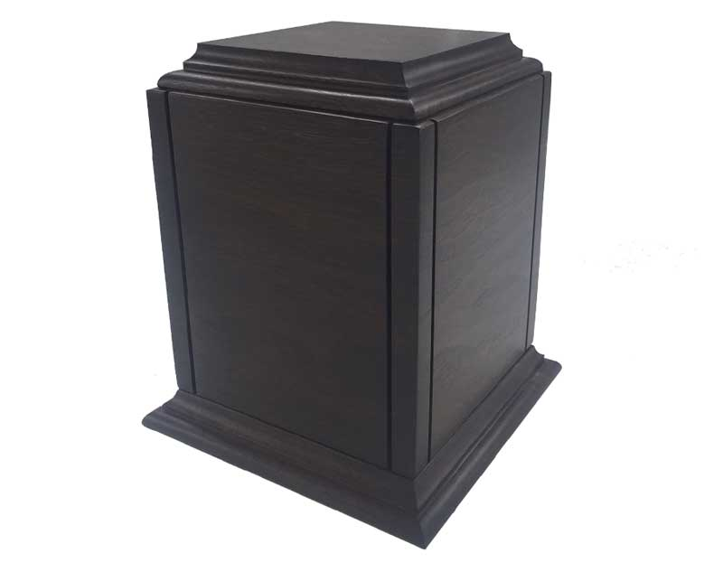 Classic Walnut Wood Urn WU206