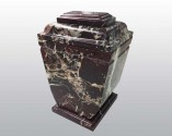 Royal Red Marble Urn MAU010