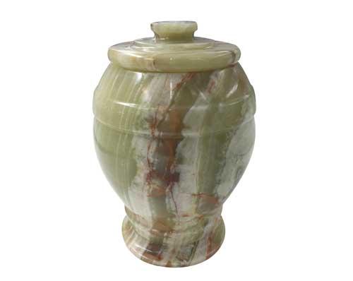 Serenity Green Onyx Marble Urn MAU017