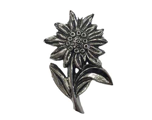 Silver Flower Ornament UO100