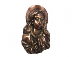 Bronze Saint Mary Ornament UO102