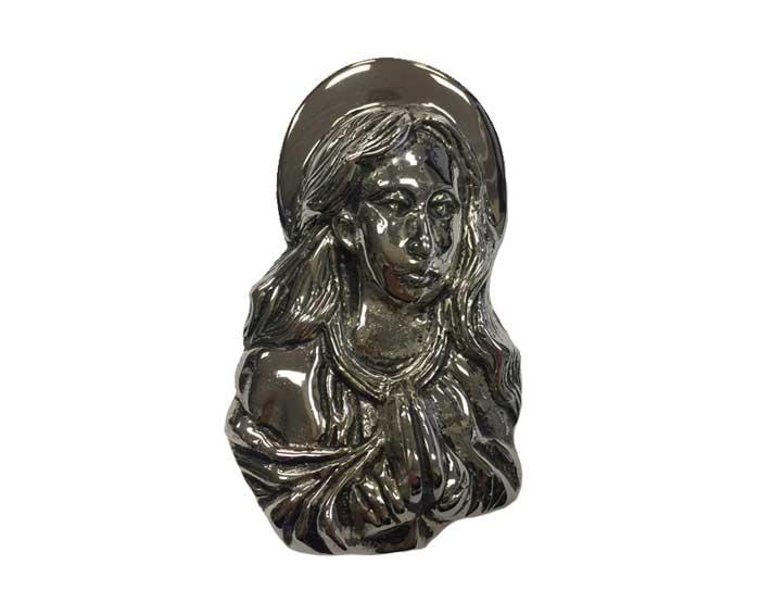 Silver Saint Mary Ornament UO103
