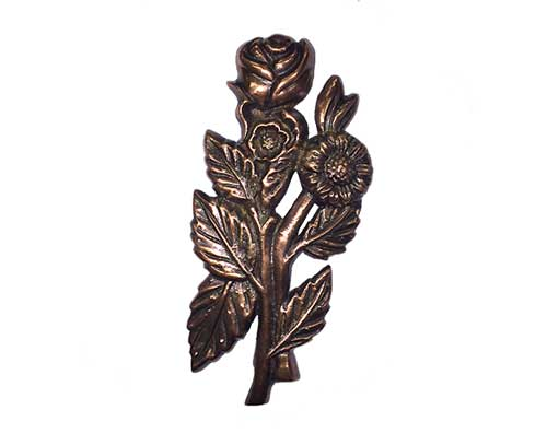 Bronze Roses Ornament UO104