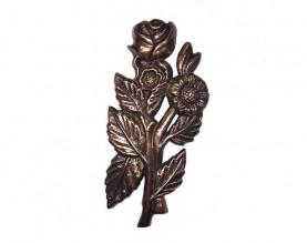 Bronze Roses Ornament UO104