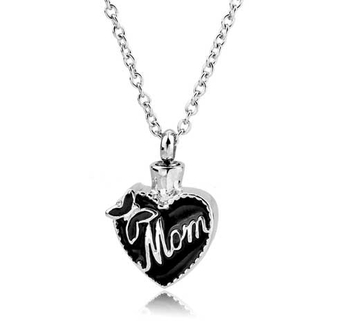 Love Mom Cremation Jewelry CMJ101