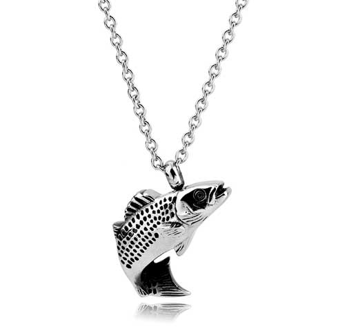 Lucky Fish Stainless Steel Jewelry CMJ103