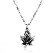 Maple Leaf Stainless Steel Jewelry CMJ109