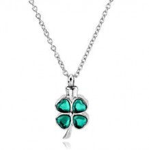 Lucky Clover Stainless Steel Jewelry CMJ113