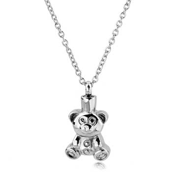 Teddy Bear Stainless Steel Jewelry CMJ125