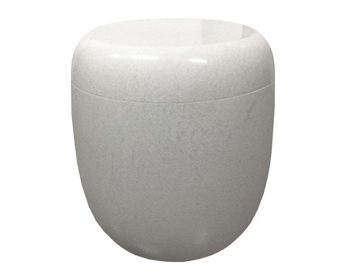 White Lily Marble Urn MAU209