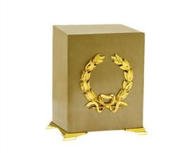 Memorial Cube Metal Urn MU205