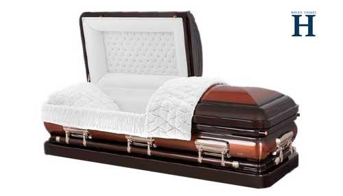 copper casket