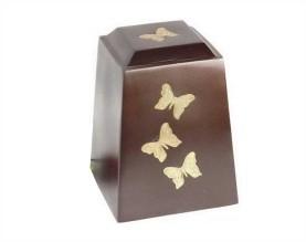 Afternoon Butterfly Metal Urn MU246