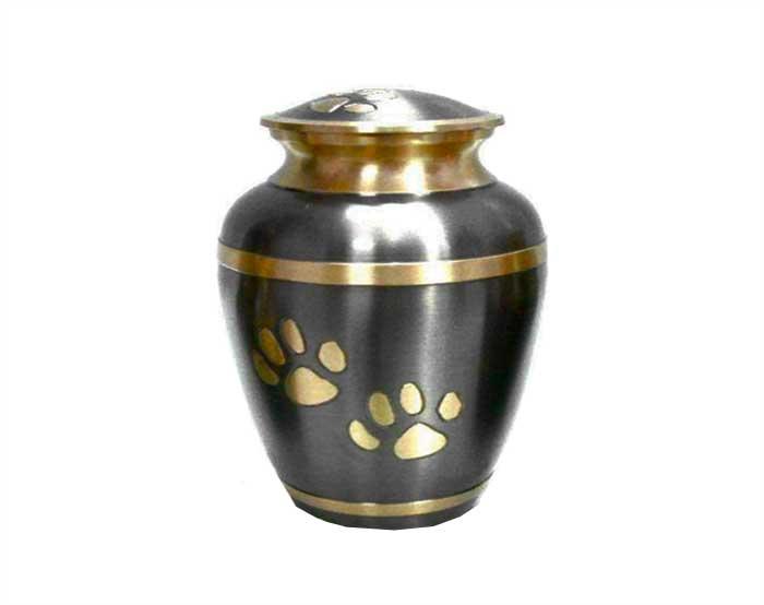 Golden Paw Metal Urn PU105