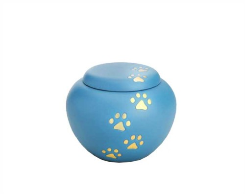 Blue Sky Paws Metal Urn PU104