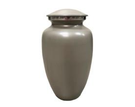 Classic Grey Metal Urn MU311