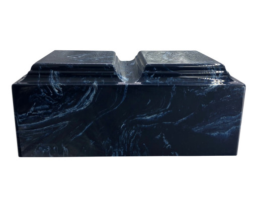 Companion Navy Blue Marble Urn MAU235